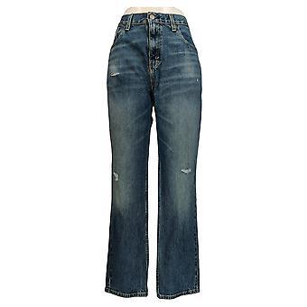 ليفي & apos;s الرجال & apos;ق نحيل الجينز 34x30 نحيل الساق ث / جيوب الأزرق