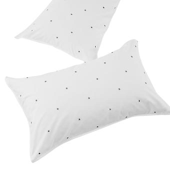 The Linen Yard Strand Pillowcase Set (Pack of 2)
