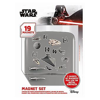 Star Wars Death Star Battle Fridge Magnet (Pack of 19)