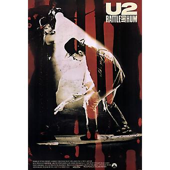 U2 Rattle and Hum Movie Poster (11 x 17)
