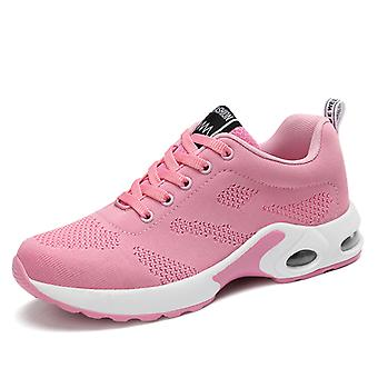 Women's Air Cushion Sneakers Chaussures Roses