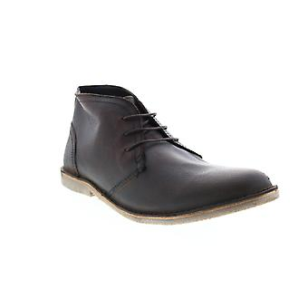 Andrew Marc Walden  Mens Brown Leather Chukkas Boots