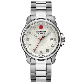 Mens Watch Swiss Military Hanowa 06-5231.7.04.001.10, Quartz, 39mm, 5ATM