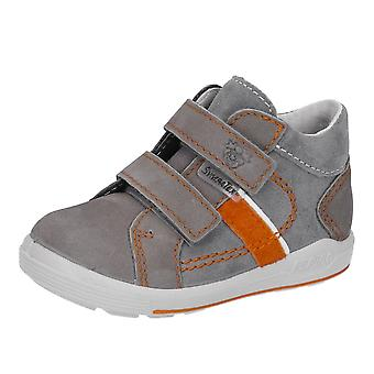 RICOSTA Goretex Double Velcro Short Boot In Grey