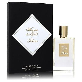 Woman in gold eau de parfum spray by kilian 554329 50 ml