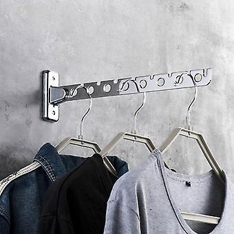 Kledingrek kleding hangers muur gemonteerd hanger roestvrij staal binnenruimte