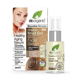 Organic Snail Gel Facial serum, 30 ml - Siero viso 30 ml of gel