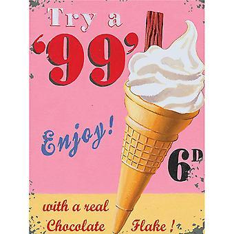 The Original Metal Sign Company Try a 99 Fridge Magnet