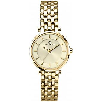 Accurist 8008 London Gold Stainless Steel Ladies Watch