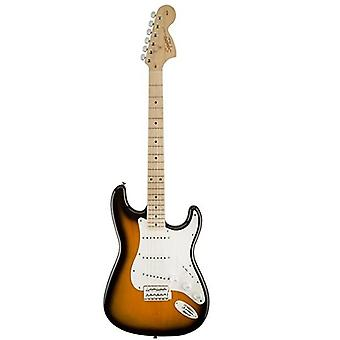 Fender 6 string solid-body electric guitar, right handed, 2-color sunburst (0310603503)