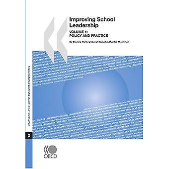 Improving School Leadership - Volume 1 - Policy and Practice by Bernan