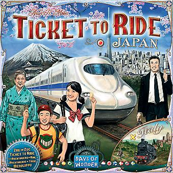 Ticket to Ride Map Collection: Volume 7 – Japan & Italy Expansion