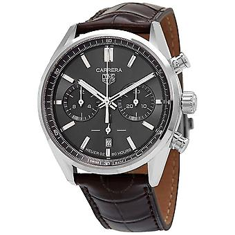 Tag Heuer Carrera Chronograph Automatic Grey Dial Men's Watch CBN2012.FC6483