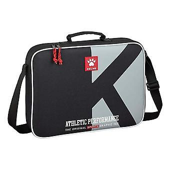Briefcase Kelme Athletic Black Grey (6 L)