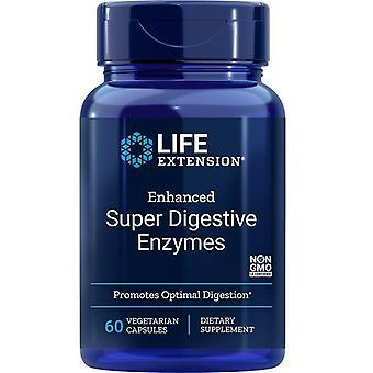 Life Extension Enhanced Super Digestive Enzyme Vegicaps 60