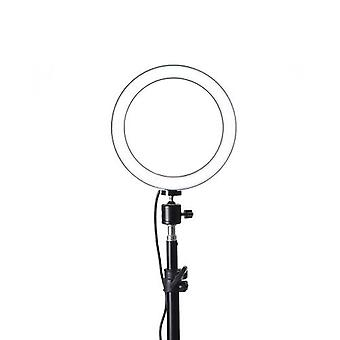 260mm USB Interface Dimmable LED Selfie Round Light Phone Photography Video Makeup Lamp