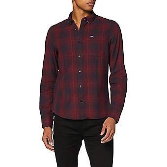 Garcia T01225 Shirt, Merlot, L Man