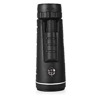 40X60 في الهواء الطلق أحادية اللون BAK4 أحادية التلسكوب HD الرؤية نطاق المنشور