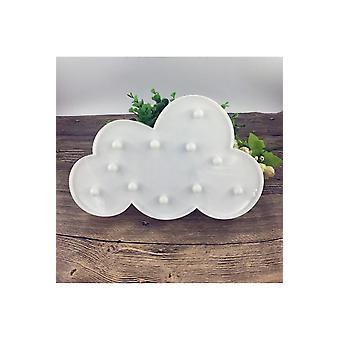 Kaunis pilvisuunnittelupöytä led hauska lamppu