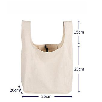 New Waterproof Bento Folding Shopping Bag Cotton Handbag Lunch Box Bag Cotton Bag Buggy Bag ES9240