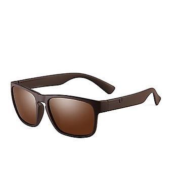 Marka spolaryzowane okulary przeciwsłoneczne Plastic Oculos De Sol Moda Męska Square Jazdy