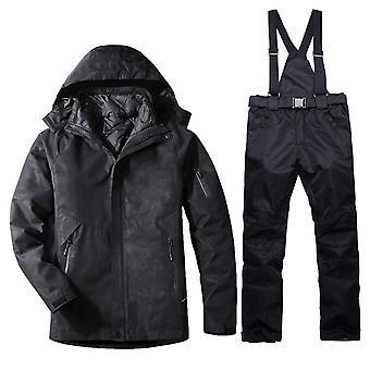 Women Waterproof Windproof Jacket Pants Set