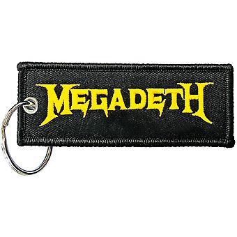 Megadeth - Logo Keychain