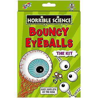 Bouncy Eyeballs Horrible Science Set