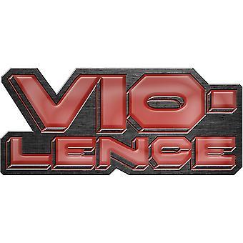 Vio-Lence - Logo Pin Badge