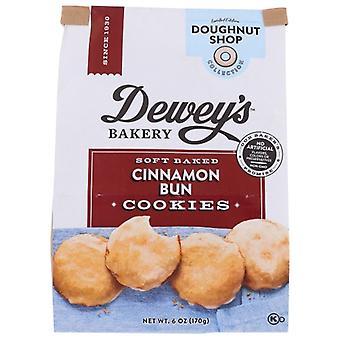 Deweys Cookie Cinnamon Bun, prípad 6 X 6 Oz