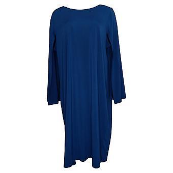 Antthony Plus Dress Knee Length Cape Sheath Navy Blue 735889