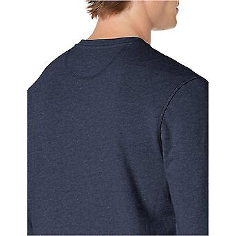 Essentials Men's Long-Sleeve Lightweight French Terry Crewneck Sweatshirt