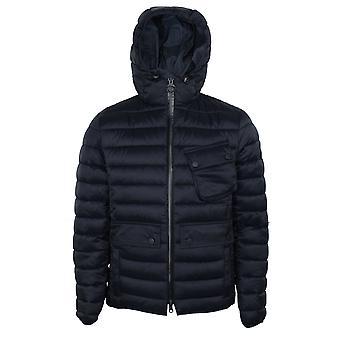 Barbour international men's navy ouston jacket
