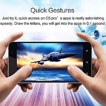 Oukitel C5pro Touch Screen Mobiltelefon Mtk6737 Quad-core til Android6.0