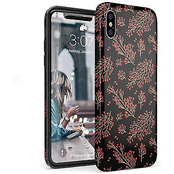 Iphone X/xs Black Silicone Shell Cover