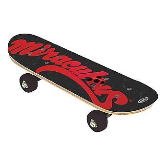 Children's 17-inch Wood Mini Skateboard Cruiser Skateboard