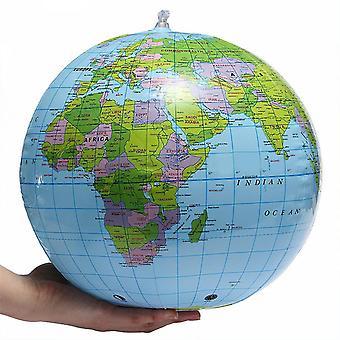 Inflável Blow Up World Globe Earth Map Ball - Brinquedo de Geografia de Aprendizagem Infantil