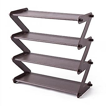 Shoes Rack Multifunctional Multi-layer Stainless Steel Decorative Shelf Plant  Books Sundries Storage Dorm Room Stand Organizer