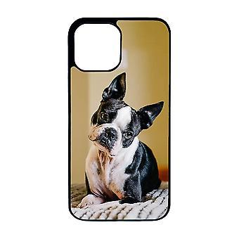Hund Bostonterrier iPhone 12 Pro Max Skal