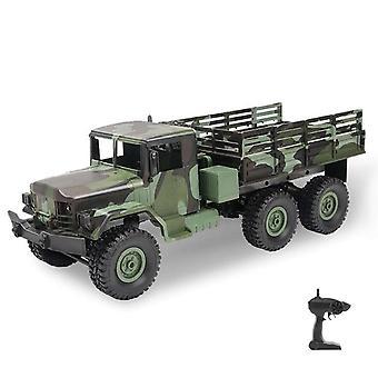 RC משאית משאיות צבאיות 1: 16 זוחל שטח מרוחק את צעצועי משאית כביש לילדים| משאיות RC (ירוק)