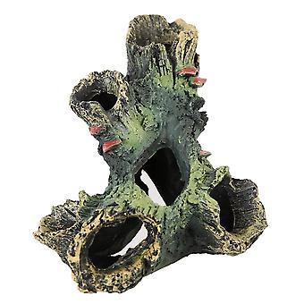 Akvárium Terénní úpravy Pryskyřice Skalistá želva Plaz Habitat Dekorace Ornament Plazi
