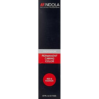 Permanent Dye Indola Caring Color Red & Fashion #7.76 (60 ml)