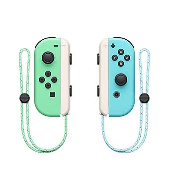 Wireless Bluetooth Joy-con L/r Controller Compatible With Nintendo Switch-green Blue