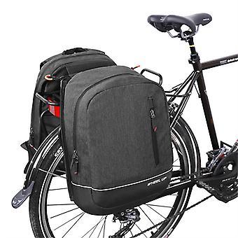 Evago sykkelkurv pannier ryggsekk kabriolet - 2 i 1 sykkel pendling og reiseveske