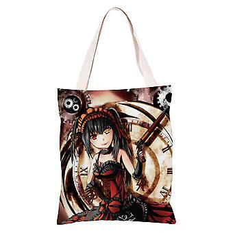 الكرتون أنيمي قماش حقيبة التسوق حمل، تاريخ #16 لايف
