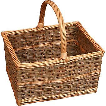 Yorkshire retangular de cesta de compras