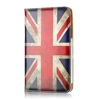 Caisse de livre de conception pour Tesco Hudl 2 - Union Jack UK Flag