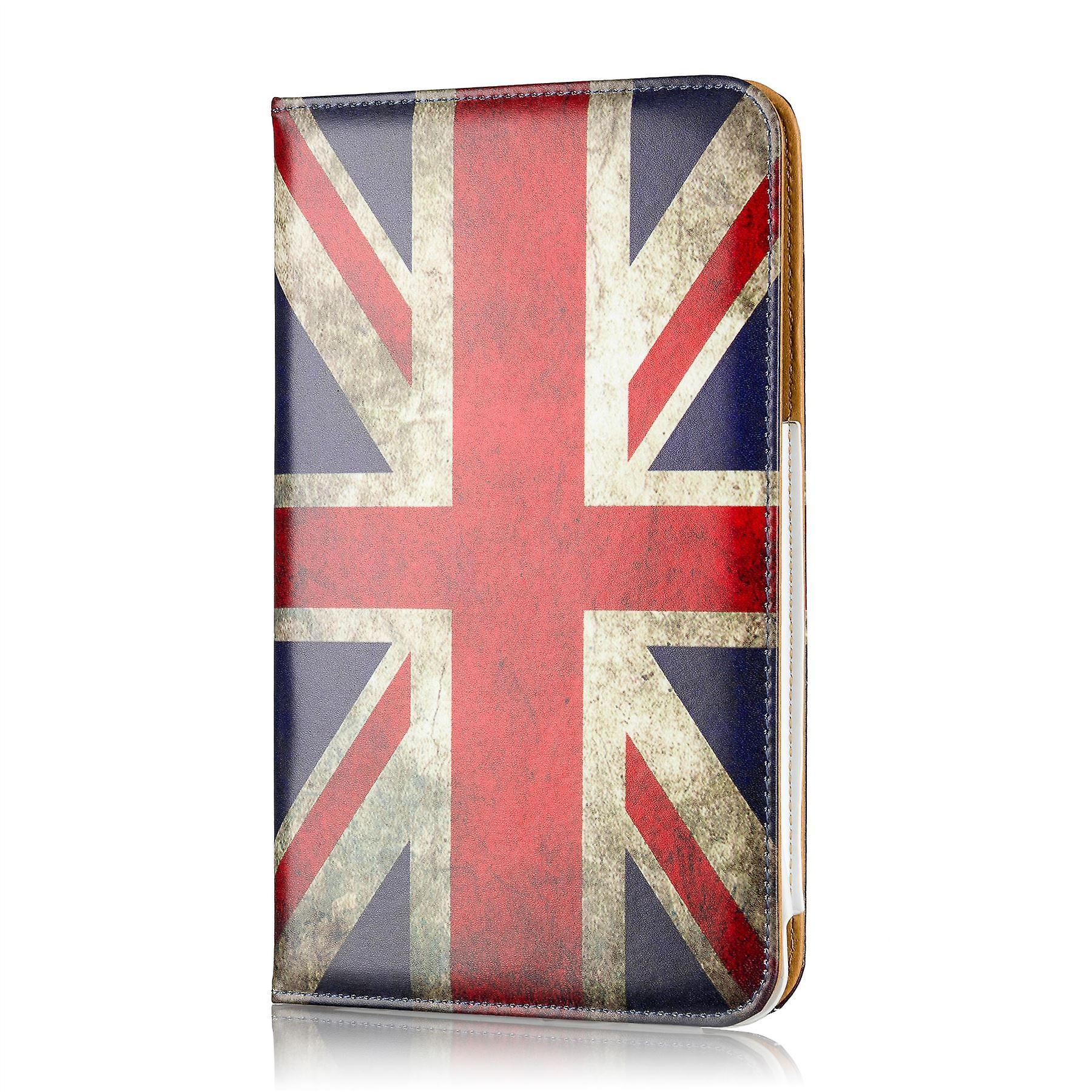 Design book case for Tesco Hudl 2 - Union Jack UK Flag