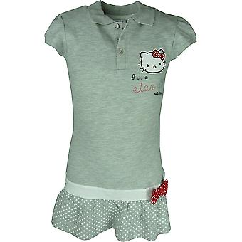 Girls Hello Kitty Short Sleeve Dress