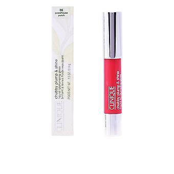 Clinique Chubby Plump&shine Liquid Lip Plumping #05-powerthouse Punch For Women